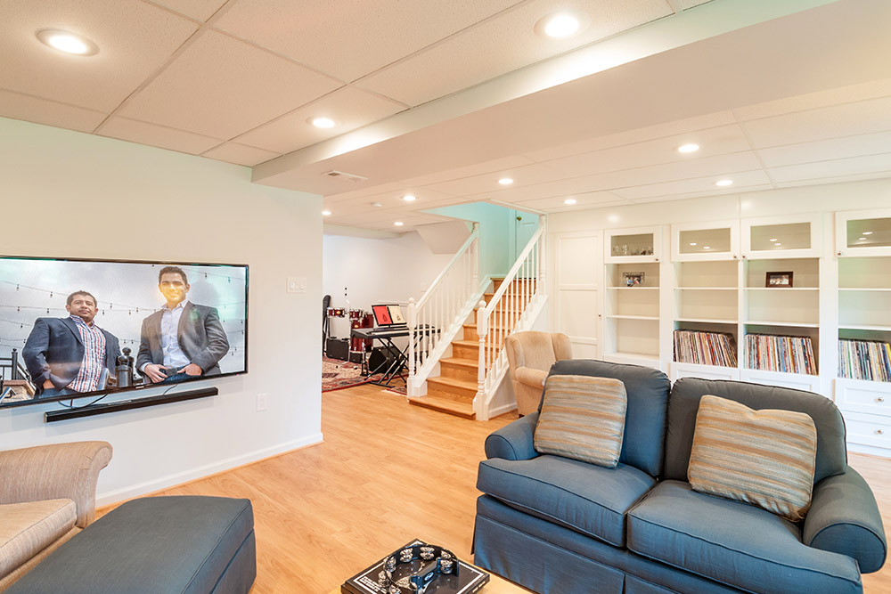 basement finishing contractor in silver spring md 20901