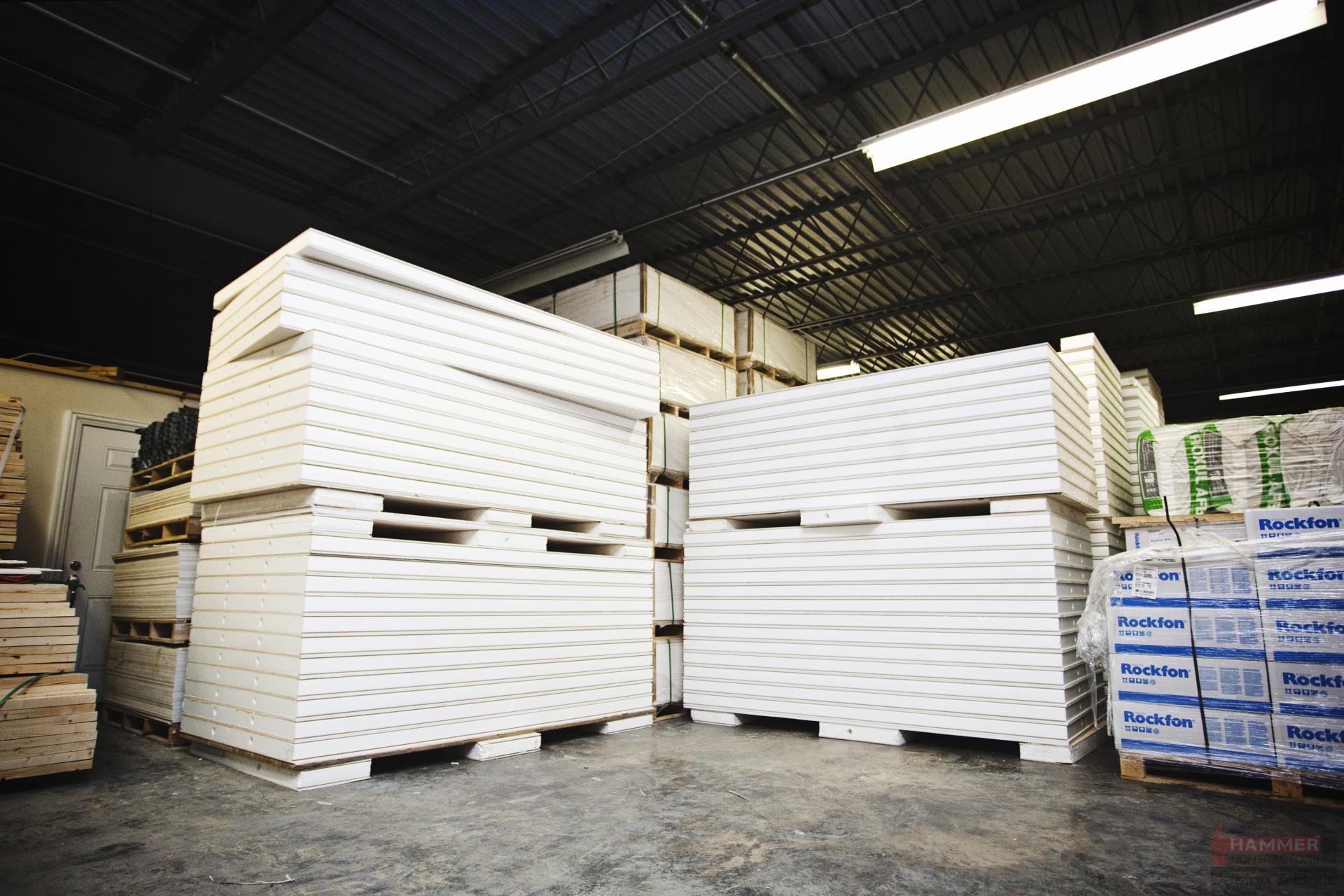 Hammer Contractors Uses Matrix Basement Finishing System